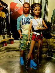 darla and tariq (krixxxmonroe) Tags: fashion ryan d ooak monroe custom simply ira darla royalty tariq daley styling simpatico janay krixx