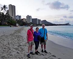 (Mitchell Lafrance) Tags: travel vacation usa holiday beach hawaii oahu pacificocean waikikibeach 2014 mitchelllafrance pageceline celinepage pagepierre pierrepage lafrancemitchell
