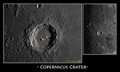 Copernicus Crater (Tom Wildoner) Tags: moon night canon video space science telescope crater astrophotography astronomy nightsky stacking cosmos solarsystem powermate copernicus meade astronomer lx90 televue canon6d backyardeos tomwildoner