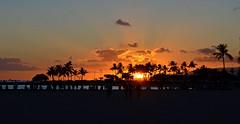 Skyfall (jcc55883) Tags: hawaii oahu ftderussybeach sunset sky clouds silhouette nikon nikond3200 d3200