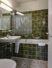 Hotel National Bern (Kotomi_) Tags: trip travel bathroom hotel swiss interior room bern accommodation stay