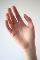 Hand (chloejadeyoung) Tags: camera light shadow portrait sunlight art me girl lines contrast self canon project photography design 3d student hand natural skin personal body tripod fingers experiment structure pale course bones wrist freckles shape highlight development coursework ephemeral materials part3 transient impermanent imperfections artfoundation 700d