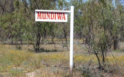 . Mundiwa, Bourke NSW