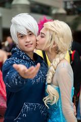 Jack Frost & Queen Elsa (vato915) Tags: frozen cosplay animeexpo jackfrost ax15 riseoftheguardians animeexpo2015 animeexpo15 ax2015 queenelse