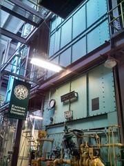 Heating Plant interior (moonraker0) Tags: industrial banner steam machinery walkway heating boiler hvac