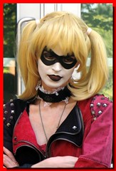 Harley Quinn (PhotoJester40) Tags: girl female outside outdoors costume harley harleyquinn jafax comicbookvillian jafax2016
