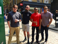 Tech Ops (The Popular Consciousness) Tags: uk greatbritain london beer pub unitedkingdom posing guys cheeky pint pubcrawl geezer brits technicaloperations