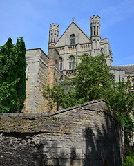 Peterborough Cathedral 3 (uplandswolf) Tags: cathedrals peterborough peterboroughcathedral