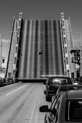 Waylaid On The Bridge (RL Firth) Tags: seattle bw ballard ballardbridge sonya7rii sonygmaster85mm14