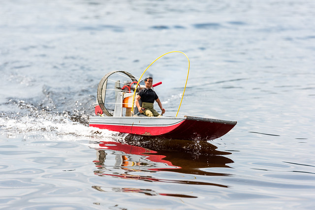 Phil's airboat.