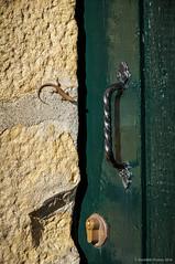 Me abres? (SantiMB.Photos) Tags: 2blogger 2tumblr 2ig puerta door ermita hermitage lagartija lizard baztn navarra otoo vacaciones2015 olazur espaa esp