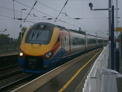 222012 @ Hendon (ianjpoole) Tags: london st working trains east pancras derby midlands 1c17 222012