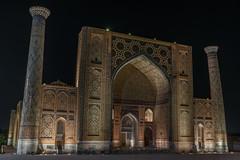 Ulugh Beg Madrasah (Stefano Cislaghi) Tags: uzbekistan samarkand registan madrassah madrasah
