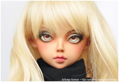 FP60 Rin Tan Mod for Pauy (Eludys) Tags: ball mod doll skin tan makeup bjd fairyland rin tanned modded jointed faceup fp60 feeple eludys