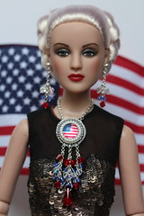 Miss 4th of July (Isabelle from Paris) Tags: tonner antoinette 4th july independence day usa isabelleparisjewels doll jewelry