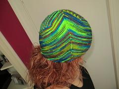 IMG_5108 (alysraen) Tags: blue green hat blunt damp madelinetosh martinabehm