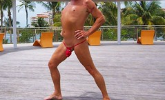 red net g deck 3 (bmicro2000) Tags: man male cock ring tiny gstring rocket manthong minimalswimwear microkini microbeachwear