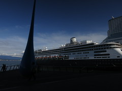 IMG_2633 (sevargmt) Tags: vancouver bc british colombia canada cruise ncl norwegian pearl may 2016 downtown place holland america volendam ship