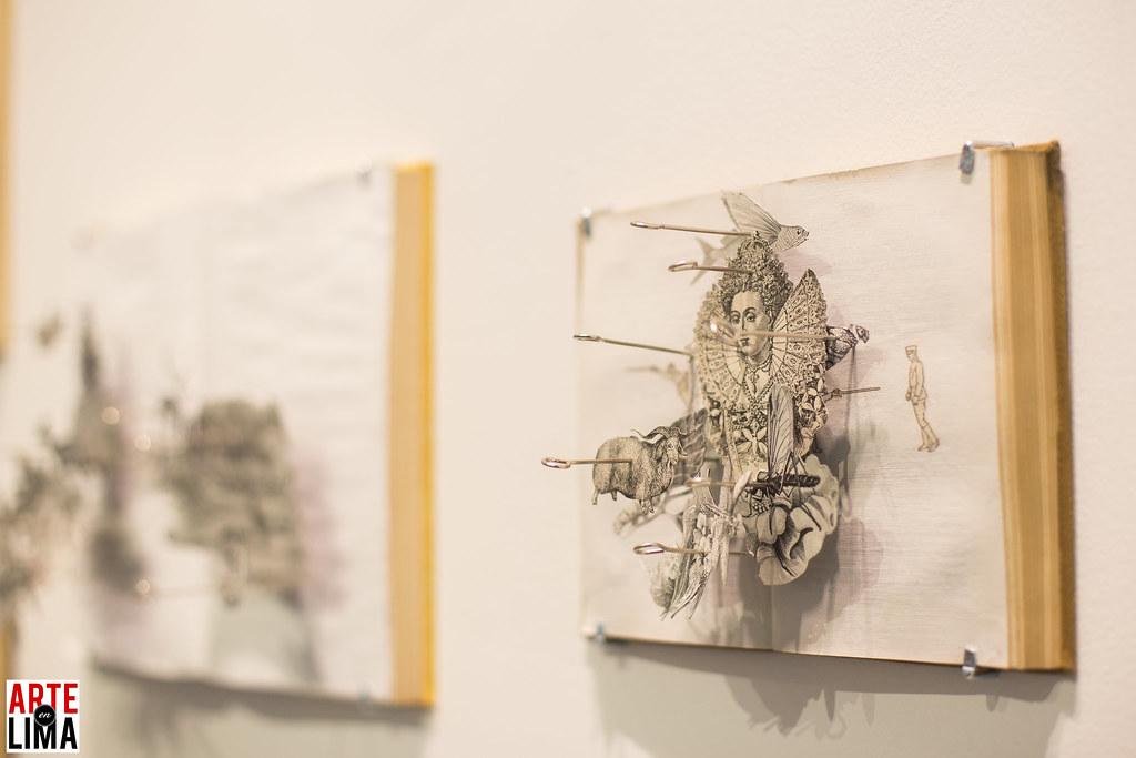 """Inauguración de la Muestra """"Ex Libris"""" en Impakto"""