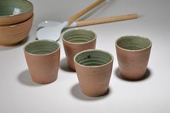 Tea-Bowl-green-brown-011 (cdkceramic) Tags: brown green ceramic teabowl    cdkceramic