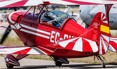 Pitts S2A Special (Ignacio Ferre) Tags: madrid red airplane rojo nikon aircraft airshow avin fio lecu cuatrovientos fundacininfantedeorleans pittss2aspecial