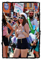 I've got your #..  :) (Alexxir) Tags: new york blue gay red white black beautiful hat sunglasses june hair island photography big women long day dress purple dancing lace jewelry skirt sneakers parade transgender lgbt frame topless huge devil bead fingernails shorts redlipstick homosexual sailor mermaid coney lesbians cleavage 18 raven navyblue pasties transsexual iphone 2016 goldbuttons stripedtanktop bluemanicure