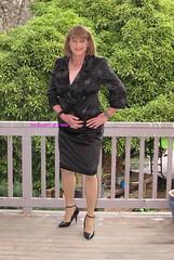 Suit 53g (Melissa451) Tags: highheels suit isabella satin