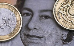 Foreign exchange - Sterling, euro off highs as Brexit vote jitters creep in (majjed2008) Tags: euro sterling forex vote creep jitters highs brexit