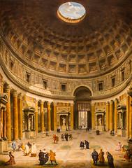 View of the Interior of the Pantheon (Thomas Hawk) Tags: nyc usa newyork museum painting unitedstates manhattan unitedstatesofamerica met metropolitan metropolitanmuseum themetropolitanmuseumofart fav10 giovannipaolopanini viewoftheinteriorofthepantheon