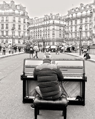 DSC02521 (dsgi15) Tags: paris bw pont neuf piano player