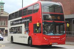 National Express West Midlands Alexander Dennis Enviro400 4733 (BV57 XHX) (Walsall) (john-s-91) Tags: walsall 4733 alexanderdennisenviro400 nationalexpresswestmidlands bv57xhx walsallroute41 giffgaff2