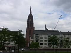Frankfurt vom Main aus gesehen (Seesturm) Tags: 2016 seesturm germany frankfurt hessen main city brigdes
