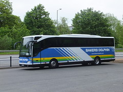 Bakers Dolphin BF65HUH Matlock (Guy Arab UF) Tags: buses mercedes benz dolphin derbyshire matlock bakers tourismo c49ft bf65huh