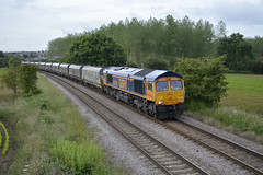 GBRf 66769 at North Anston (parkgateparker) Tags: gbrf northanston southyorkshirejoint syjnt 66769