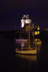 Bretagne 2016 (Isabelle Odent) Tags: bretagne ileetvilaine sunset coucherdesoleil nuit mer saintservant bateau