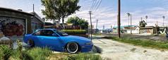 GTA 5 Nissan (ADinvom) Tags: gta 5 nissan screenshot panorama tuning stance ghetto summer screen drift parking game gaming