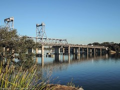 Ryde Bridge on the Parramatta River (john cowper) Tags: bridge sydney newsouthwales sydneyharbour ryde parramattariver rydebridge