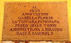 Favignana (Isole Egadi) - Stabilimento Florio (ikimuled) Tags: favignana egadi stabilimentoflorio tonnara archeologiaindustriale lapidi