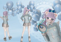 Aoi So Kawaii (SerenitySemple) Tags: secondlife furry fashion shirotsuki kawaii kowai cubiccherrykreations kreaokujisawa cubiccherry tictottoe crystalheart gacha projectse7en sailormoon dreamful