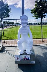 11 Amor Lucis (daedmike) Tags: charity art statue angel dead fun bucket comic dundee cherub hunt angelwings broons oorwullie slessorgardens
