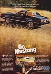 Mustang 1978 (moogirl2) Tags: ford vintage retro vogue 70s 1978 mustang fordmustang 70sstyle vintageads 70scars vintagevogue vintagecarads