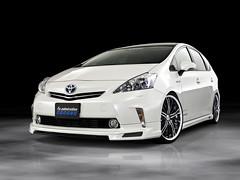 Admiration Toyota Prius Hybrid (SDA007) Tags: toyota jdm japan vellfire alphard spade prius hybrid custom