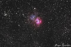 M20-Trifid Nebula (G.Tzevelekos) Tags: night nikon nightscape nebula astrophotography messier m20 trifid ed80 helmos astrometrydotnet:status=solved d7000 astrometrydotnet:id=nova1641435