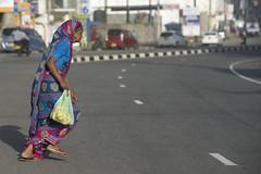 Road runner (Photosightfaces) Tags: road woman lady crossing running run sri lanka srilanka galle across srilankan lankan