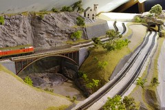 Model Viaduct (Concorps) Tags: ireland dublin tree scale car train spur model carriage pentax sony n eisenbahn railway zug german american valley locomotive  rheintal bahn gauge  roco tal spoor deutsch mosel   kx fleischmann     1160  minitrix    spoorwgen  dscw220