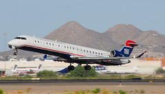 Bombardier CRJ-900LR U.S. Airways N248LR (Pasley Aviation Photography) Tags: arizona tia us airport tucson jet international airways 700 regional 900 crj bombardier canadair crj900lr n248lr