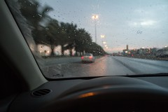 It's raining again    (! FOX) Tags: its canon eos again fox 7d ahmad raining ahmed  a7mad a7med          al5ain 5ain