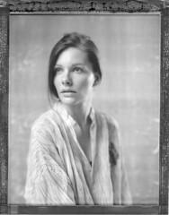 Alx (Braca Nadezdic) Tags: portrait blackandwhite bw girl portraits 8x10 impossible pq polaroid8x10