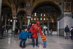 Istanbul | Ayasofya | Hagia Sophia (wazari) Tags: wazari wazariwazir istanbul constantinople turkey asia ottoman byzantine mosque sultanahmet bosphorus travel traveler history historical ancient architecture journey place destination islam religion faith art dome galata taksim city masjid senibina culture cultural europe secular stamboul middleages asean european turk minaret islamicart artistic photoshop adobe travelphotography travelphotographer photograph photography classic retro vintage turkish ataturk galatatower ayasofya hagiasophia