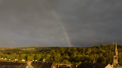 evening light on the valley (RCB4J) Tags: light clouds dark evening scotland rainbow valley views goldenhour ayrshire newmilns irvinevalley eastayrshire broodling sonyafdt18250mmf3563 sonyslta77v ronniebarron rcb4j